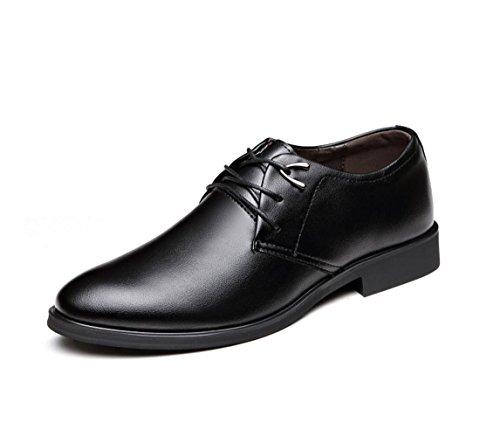 NSPX I pattini di affari di di nuovo uomini / pattini di cuoio / cuoio / cerimonia nuziale / partito / Oxford scarpe / scarpe comode di usura resistente degli uomini , 43 BLACK-43