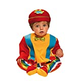 My Other Me Me - Disfraz de bebé payaso, 1-2 años (Viving Costumes 203275)