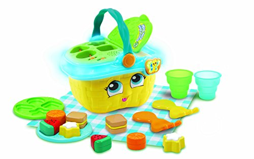 LeapFrog 603653Formen & Sharing Picknickkorb gelb Lernspielzeug, Multi, One Size