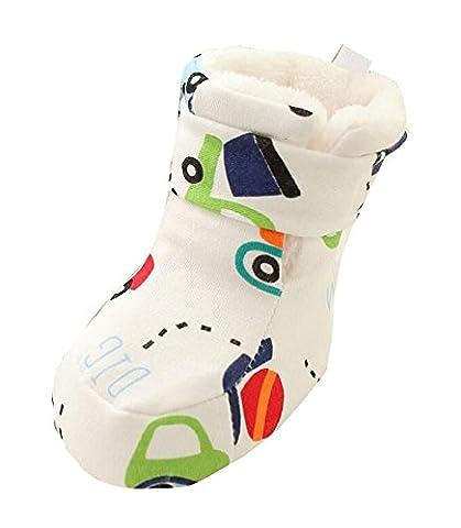 Voiture modèle Chaussures d'hiver pour bébé Chaussure pour