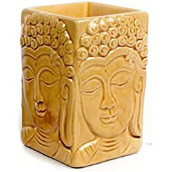 De cerámica esmaltado crujido del quemador de aceite 12 x 8 x8cm Buda decoración incluido aceite de la fragancia