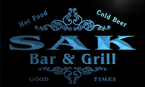 u38967-b-sak-family-name-bar-grill-home-brew-beer-neon-sign-barlicht-neonlicht-lichtwerbung