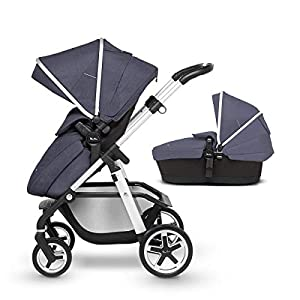 Silver Cross Pioneer Pram and Pushchair, Midnight Blue   14