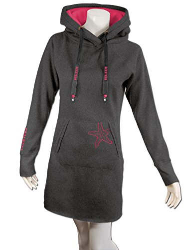 08f2fb7db96d3d ... SEESTERN Damen Langes Kapuzen Sweat Shirt Pullover Hoody Sweater  Gr.M-XL  FBA 1525 ...