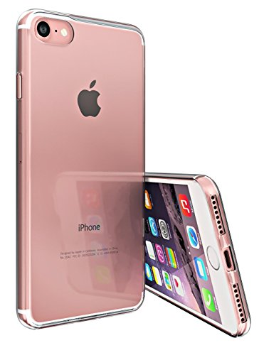 Original TheSmartGuard iPhone 8 Hülle Silikon Case durchsichtig transparent extra Clear TPU Schutzhülle (4,7 Zoll) -- **NEU** 360°-Protection **NEU** -- Hülle Transparent