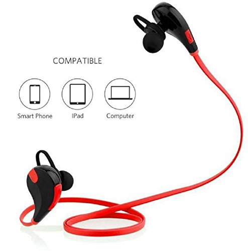 JYARA Eye Catching Bluetooth Earphone with feature of Feet Taping Music sound ||Super Sound ||Sweat Proof ||Premium Look||Professional Bluetooth 4.1 Wireless Stereo Sport Headphones Headset Compatible with your Acer beTouch E210  available at amazon for Rs.649