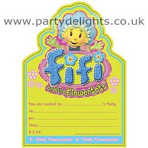 Fifi And The Flowertots Invitations (20pk)
