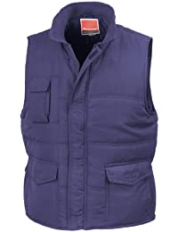 Result - Chaleco semi-impermeable cortavientos Modelo Mid-Weight hombre caballero