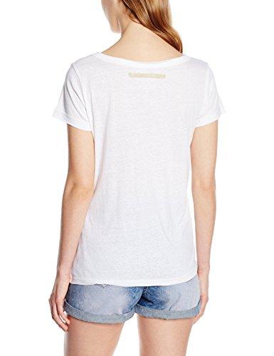 Deeluxe Tatoo - T-shirt - Imprimé - Manches courtes - Femme Blanc (White)