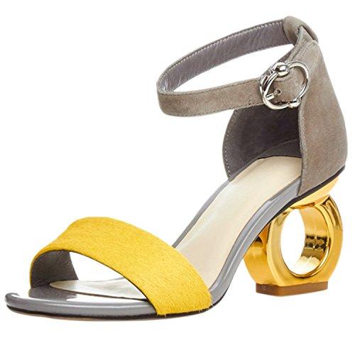 Azbro - Cinturino alla caviglia Donna Giallo