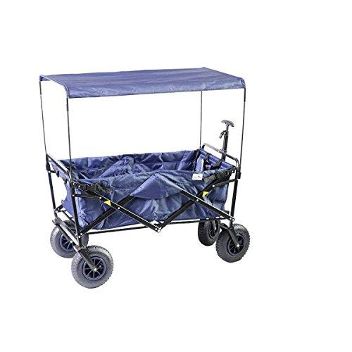 Preisvergleich Produktbild Dach zu Bollerwagen BelSol blau 50x50x89 cm