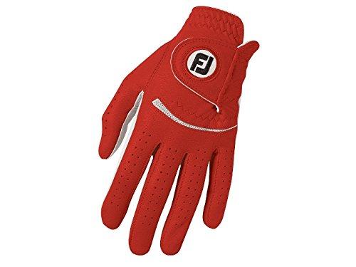 FootJoy SPECTRUM Damen Golfhandschuh LH - für Rechtshänder - Rot (M)