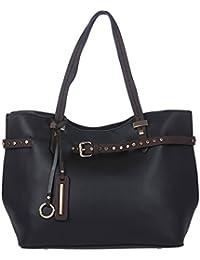 Fur Jaden Black Women's Tote Handbag For Women With Sling Bag Combo