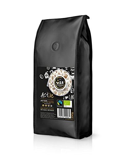"""C&R coffeeandrelax, """"Active – After Work"""" 250g; extrem hochwertiger premium Bio und Fairtrade..."""