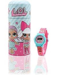 L.O.L. Surprise! Reloj Digital para Niñas con Caja Alcancía Munecas LOL