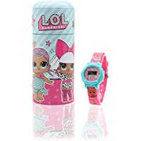 Orologio LOL Surprise ! per Bambina con Salvadanaio in Latta Accessori Bimba Bambole LOL Confetti Pop