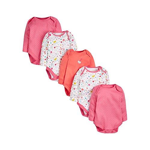 mothercare-5pk-woodland-braguita-para-bebes-multicolor-0-3-meses-talla-del-fabricante-62-cm