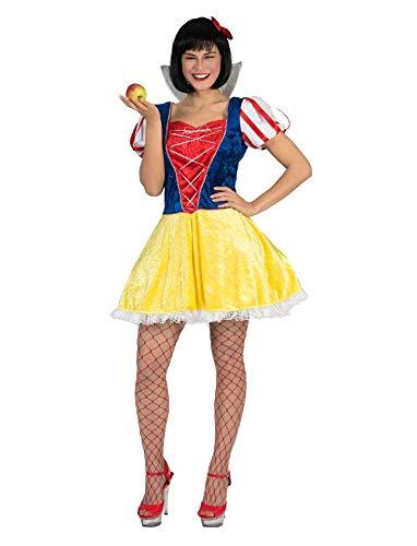 Funny Fashion Sexy Schneewittchen Kostüm Sweetie für Damen - Gr. (Heiße Schneewittchen Kostüm)
