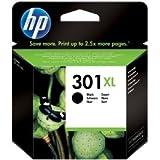 Original Tinte passend für HP DeskJet 3050 se HP 301 , 301XL , 301XLBK , 301XLBLACK , NO301XL , NO301XLBK , NO301XLBLACK CH563EE - Premium Drucker-Patrone - Schwarz - 480 Seiten - 8 ml