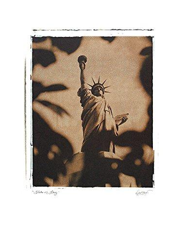 Michael Bryant Poster Kunstdruck Bild 4er Set 'Statue of Liberty - New York' + 'Colosseum - Rome' + 'Big Ben - London' + 'Arc de Triomphe - Paris' 40x30cm - Statue Of Liberty-new York