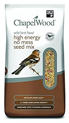 New ChapelWood High Energy No Mess Seed Mix for Wild Birds. 5kg by Chapelwood