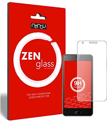ZenGlass (2 Stück Flexible Glas-Folie für Doogee X20 Panzerfolie I Bildschirm-Schutzfolie 9H