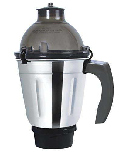 Inalsa Amaze 750-Watt Mixer Grinder with 4 Jars (Grey)
