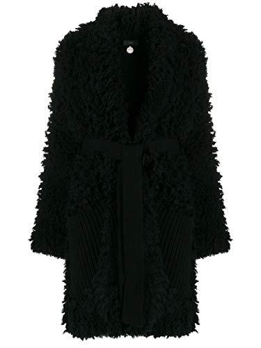 ALANUI Luxury Fashion Damen LWEA005F190740481010 Schwarz Mantel | Herbst Winter 19 14