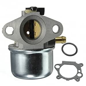 Tondeuses à gazon pour carburateur 497347/498170 Briggs Stratton 799868 &Motif