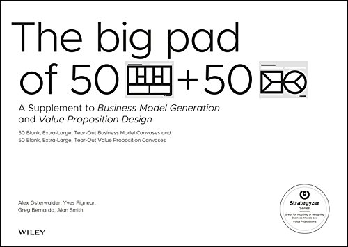 The Big Pad of 50 Blank, Extra-Large Business Model Canvases and 50 Blank, Extra-Large Value Proposition Canvases: A Supplement to Business Model Gene (Strategyzer) por Alexander Osterwalder
