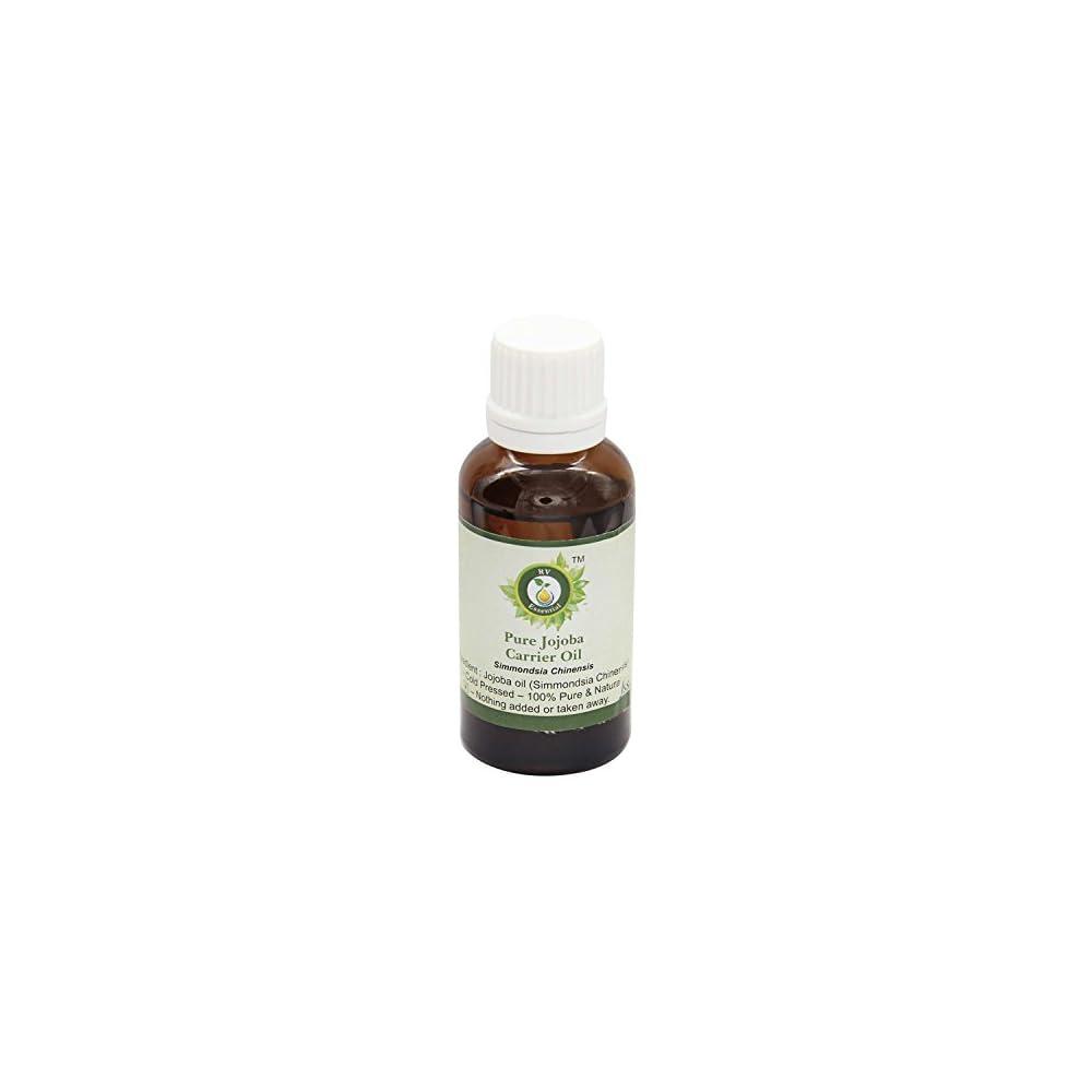 R V Essential Reines Jojoba Trger L Simmondsia Chinensis 100 Reines Und Natrliche Kaltgepresste Pure Jojoba Carrier Oil