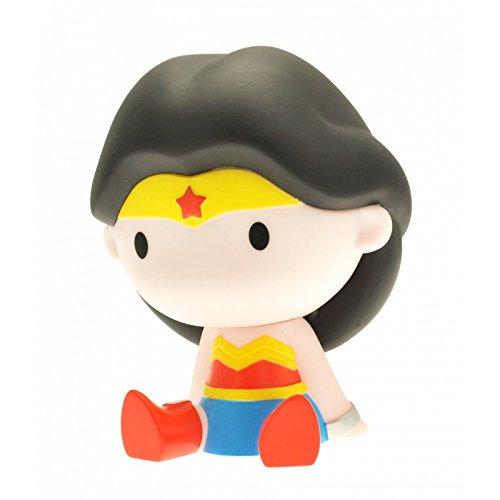 Plastoy 80066 - Dc Comics - Mini Salvadanaio Chibi Wonder Woman (1 ACCESSORES) - Wonder Woman Mini