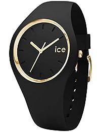 Ice-Watch - ICE glam Black - Montre noire pour femme avec bracelet en silicone - 000982 (Small)