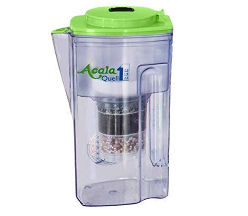 Wasserfilter AcalaQuell® One   Acalagrün   Aktivkohle Wasserfilter   Höchste Filterleistung - mehrschichtig   BPA u. BPB frei   ReNaWa® - Technology   Kreiert köstlich schmeckendes, wohltuendes Wasser