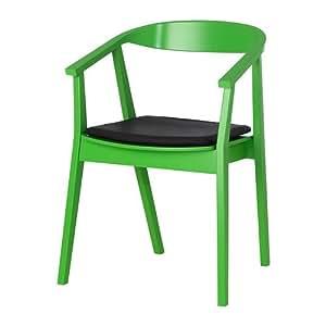 ikea stockholm stuhl mit stuhlkissen gr n dunkelbraun. Black Bedroom Furniture Sets. Home Design Ideas