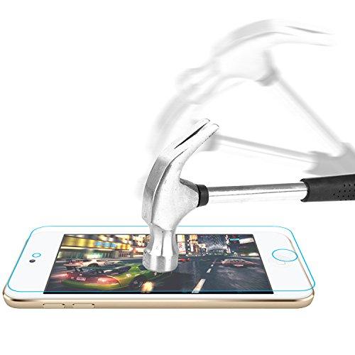 Preisvergleich Produktbild iPod Touch 6G Panzerglas, Bingsale Gehärtetem Glas Schutzfolie Displayschutzfolie Schutzglas für Der neue iPod Touch iPod touch 6G 5G (iPod Touch 6G 5G)
