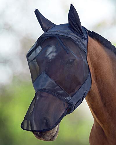 CareMaster Fliegenmaske UV Schutz Ohren und
