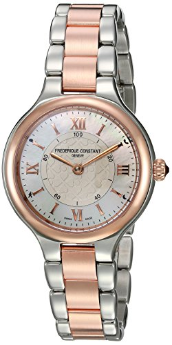 Frederique Constant Women's 'Horological Smart' Swiss Quartz Stainless Steel Casual Watch, Color:Two Tone (Model: FC-281WH3ER2B)