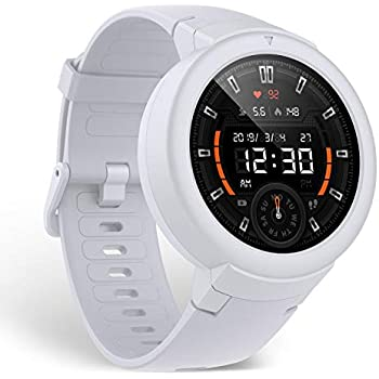 Reloj inteligente Original Huami AMAZFIT Verge Lite Bip 2 GPS IP68 impermeable Multideportivo seguimiento de la salud Blanco