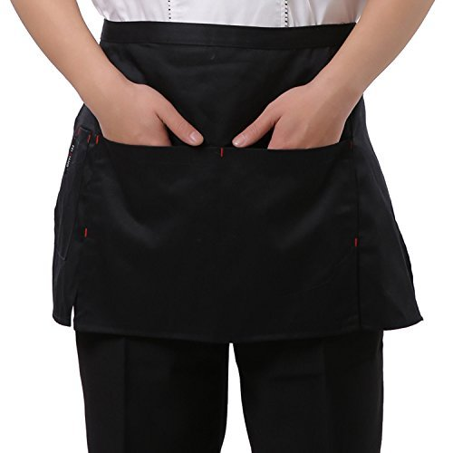 Welim delantal corto delantal Mini delantal camarero
