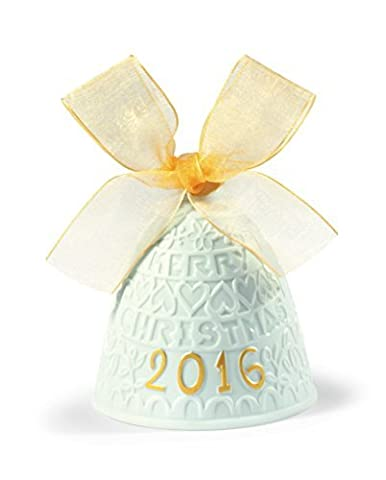 Lladro 2016 Annual Re- Deco Christmas Bell # 18410 by Lladro