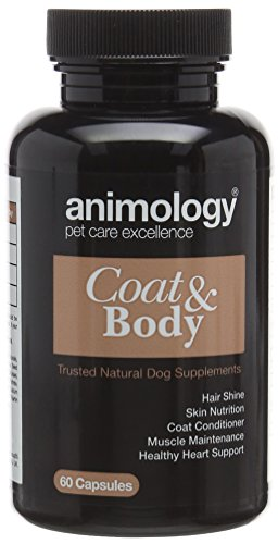 Animology Coat and Body Supplement Capsules, Pack of 60