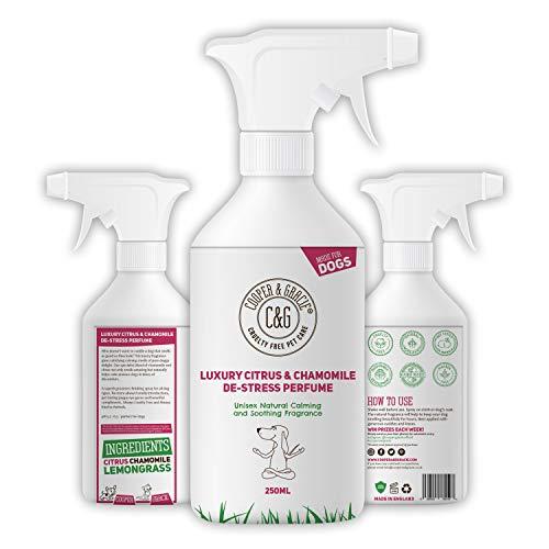 C&G | Perfume en espray para perros de 250 ml de duración...