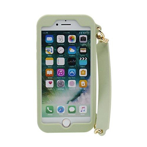 iPhone 6S Plus Coque Sac à main Forme Serie Doux Silicone Plastique Housse de Protection Case pour Apple iPhone 6 Plus 6S Plus 5.5 inch ( Rose ) vert