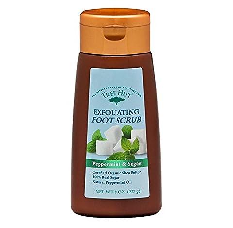 Tree Hut Exfoliating Foot Scrub 8oz Peppermint And Sugar (2 Pack) by Tree Hut