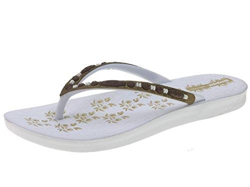 Beppi 212191 Scarpa Da Donna Separatore Scarpe Estive Pantofole Bianche