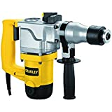 Stanley 26mm 850-Watt 2 Mode L-Shape SDS-Plus Hammer with Kitbox (Yellow and Black)
