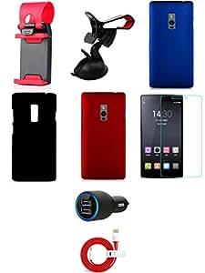 NIROSHA Mobile Combo for OnePlus 2 - 1P2-SH-CC-CUC-MH-BHBC-KHBC-MHBC-TG