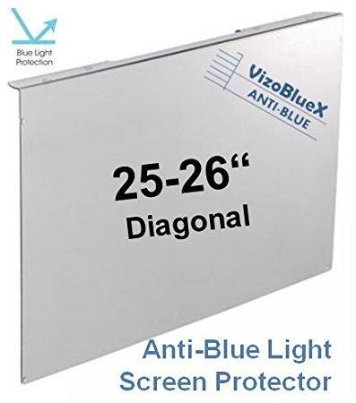 25 26 pollici VizoBlueX Anti Luce Blu filtro per monitor di computer. Luce blu pannello di protezione dello schermo del computer . Per TV TV LCD e PC