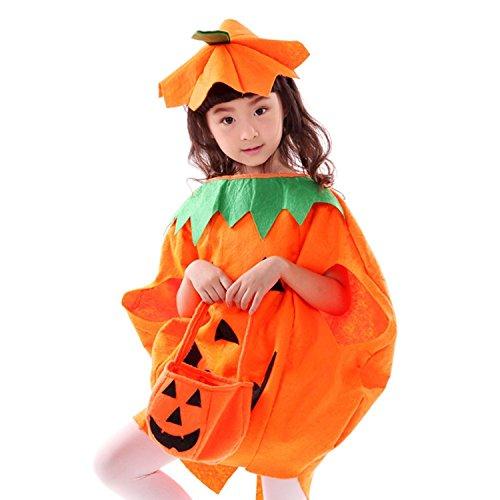 Imagen de jt amigo disfraz de calabaza halloween para niña, 3 5 años alternativa
